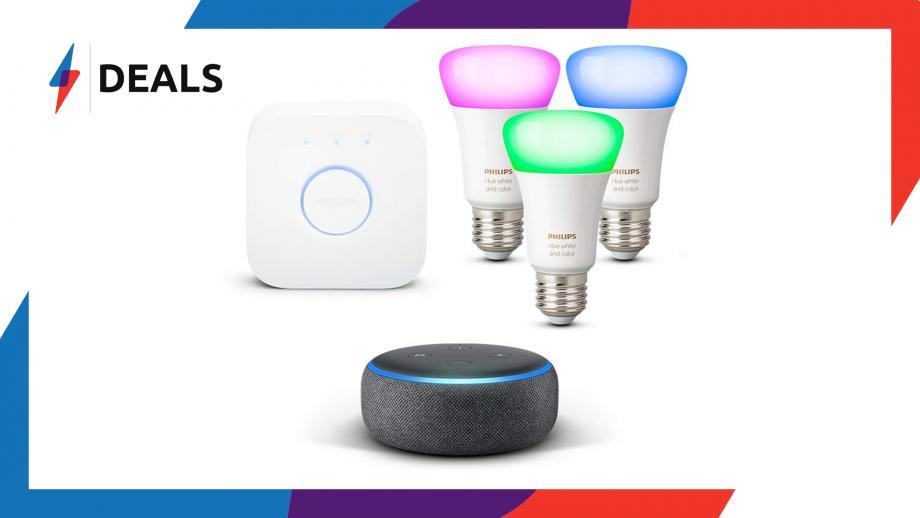 Philips Hue Echo Dot Deal