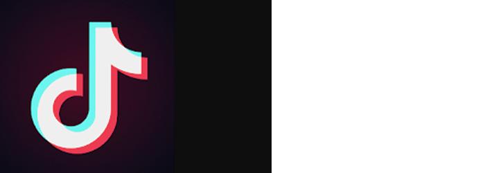 Tiktok app logo wide