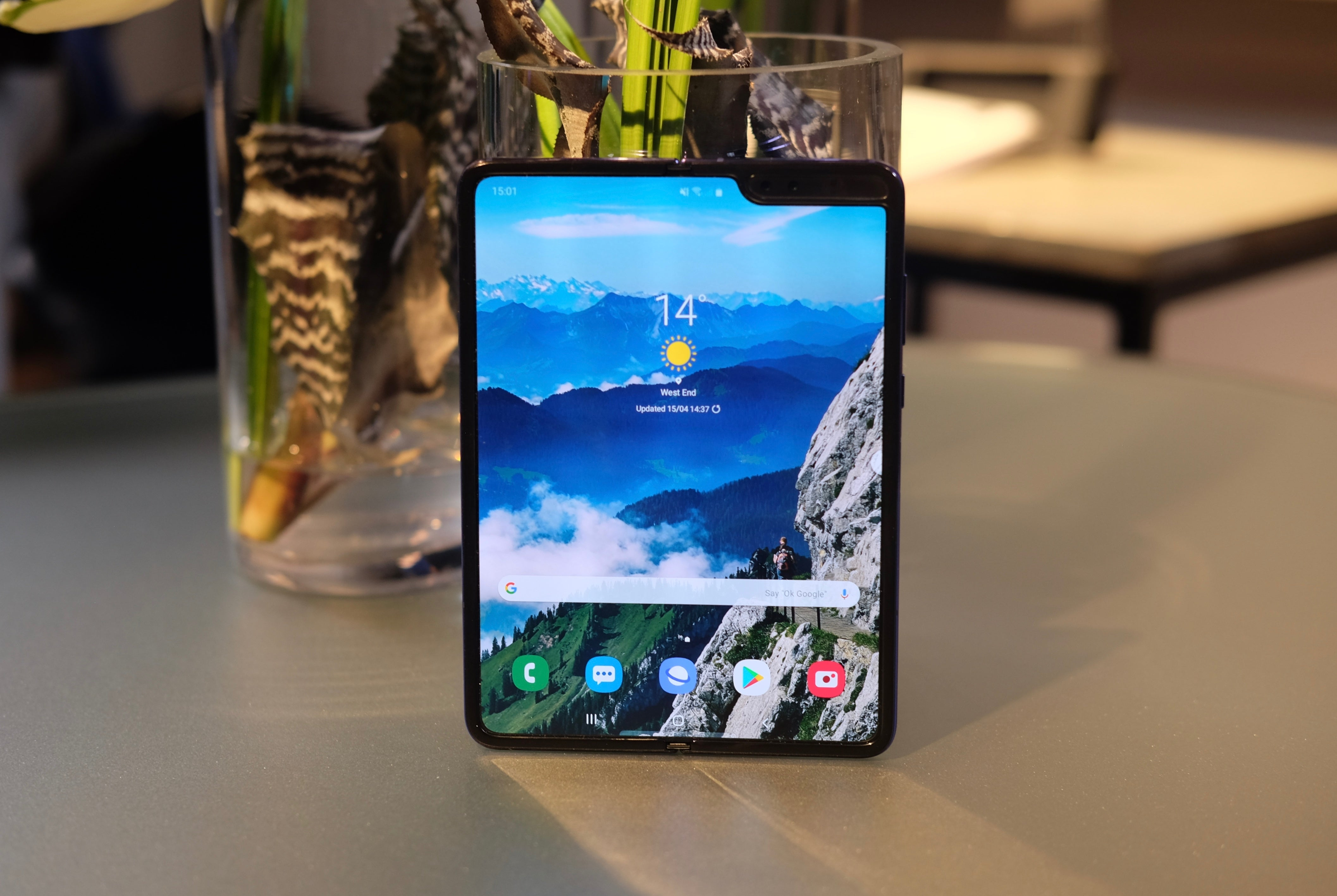 2e570978716 Samsung Galaxy Fold Review: Hands on with the delayed foldable