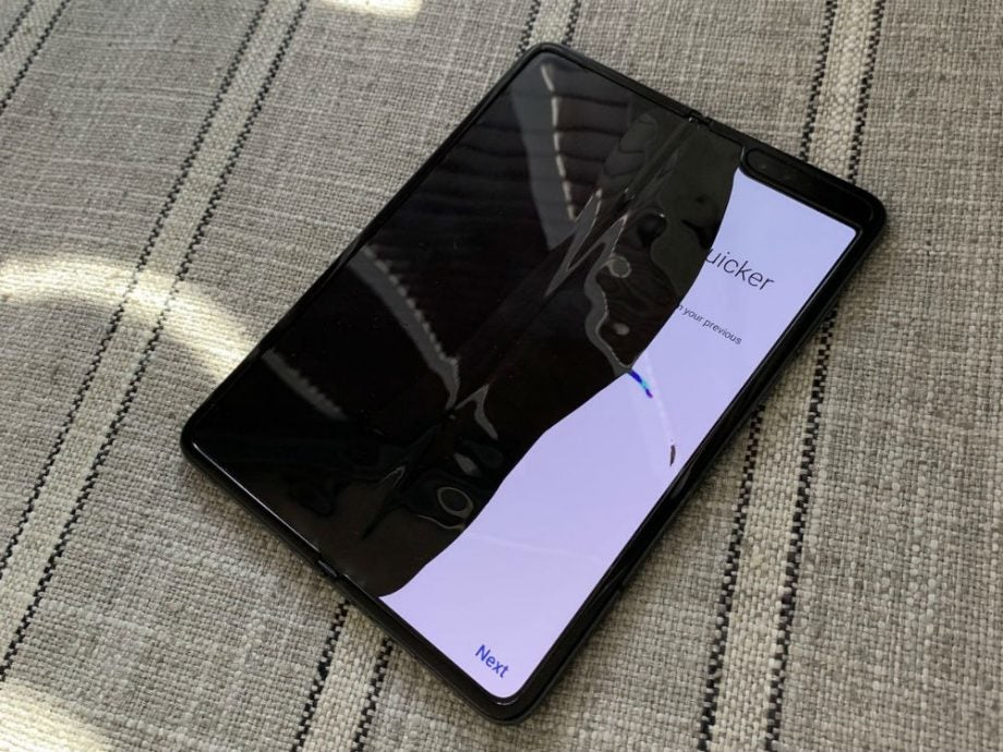Samsung reacts after several Galaxy Fold review units break in less than two days