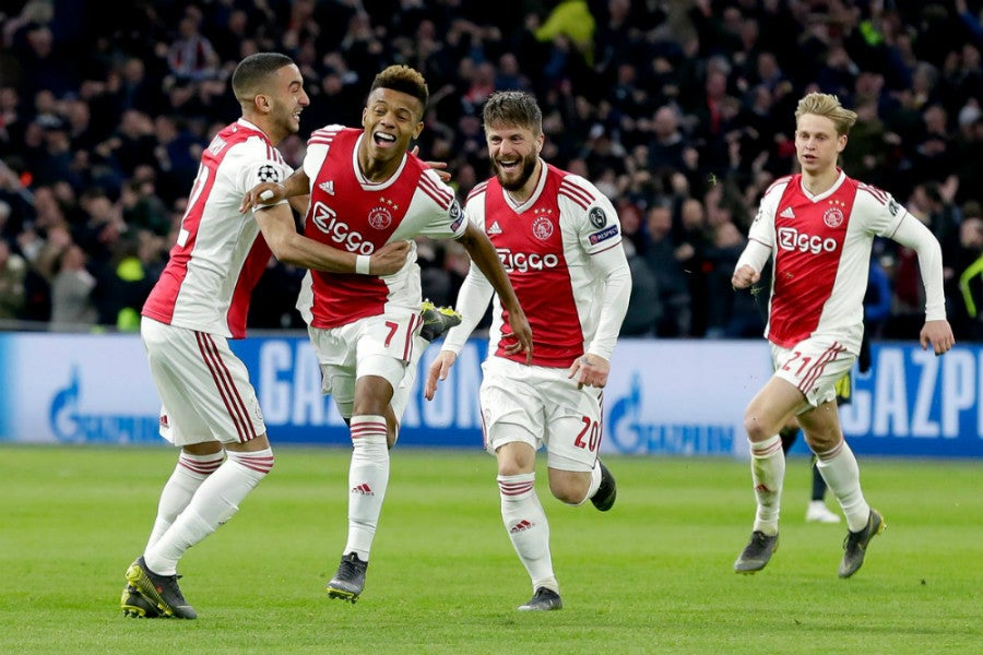 AFC Ajax 2017– - Fonts In Use