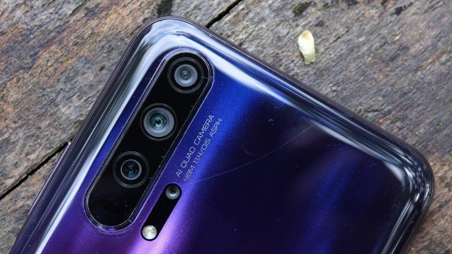 Honor 20 Pro camera closeup
