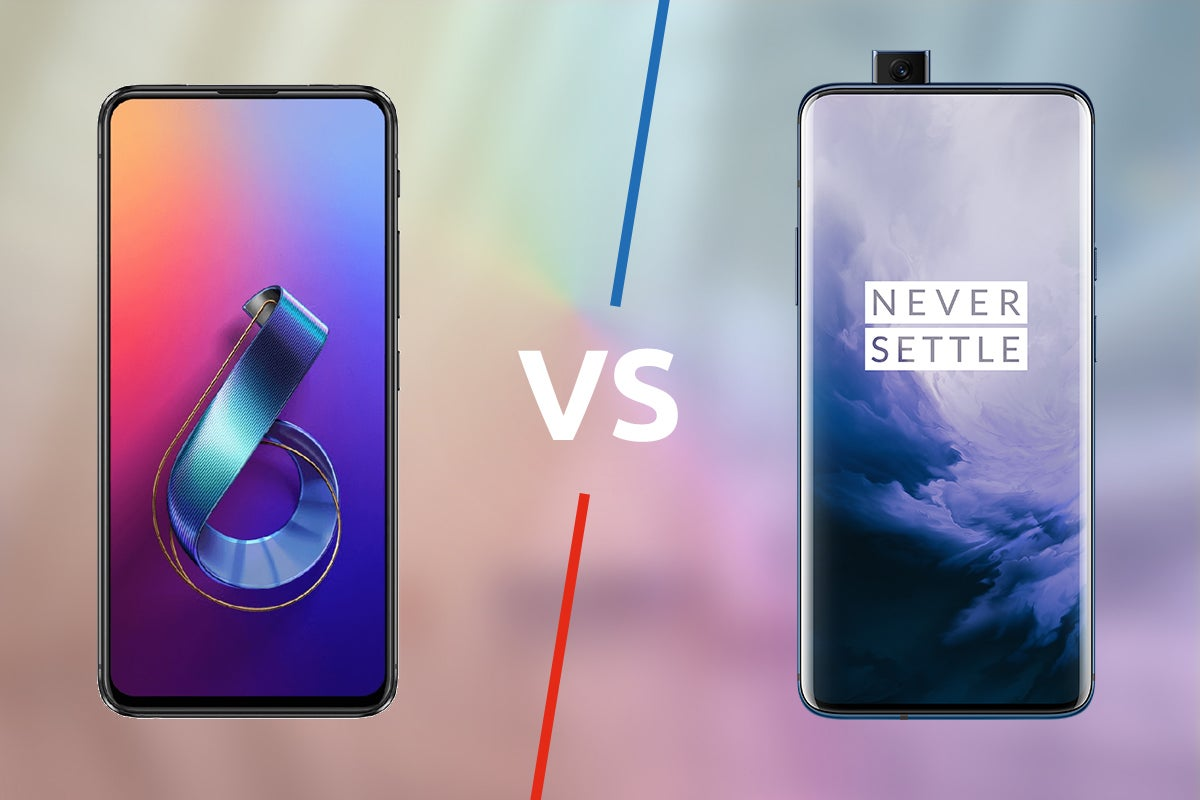 Image result for zenfone 6 vs oneplus 7 pro