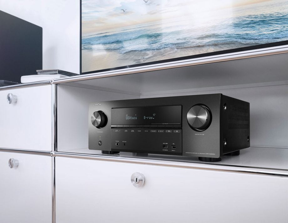 Denon adds two more AV receivers to its X-Series range