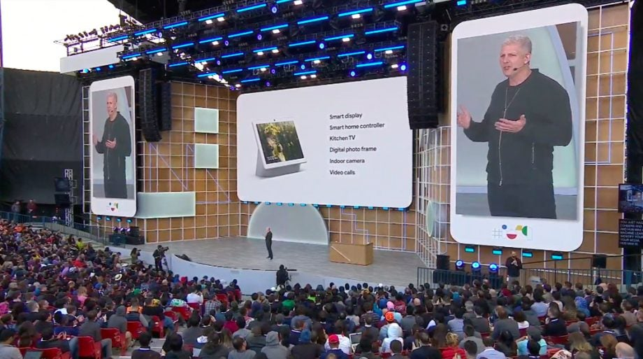 Google IO 19 Nest Hub Max feature set