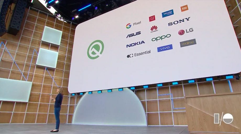 Google IO 19 Stephanie Cuthbertson Android Q beta device partners