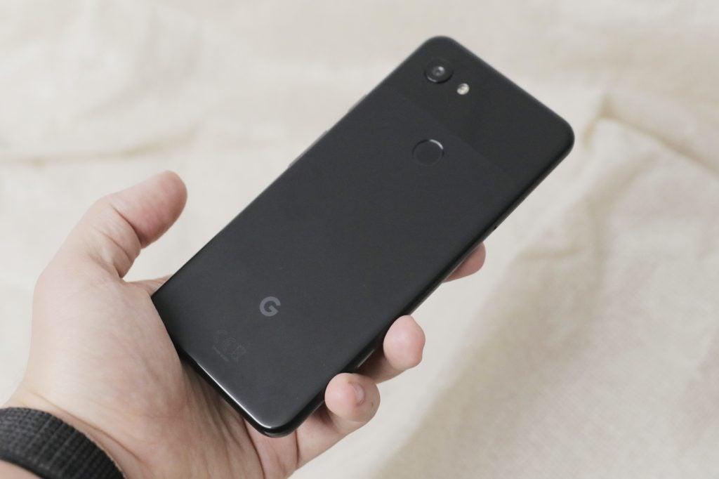 Google Pixel 3a задний угловой КПК