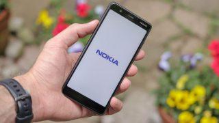 Nokia 5.1 nokia logo angled handheld