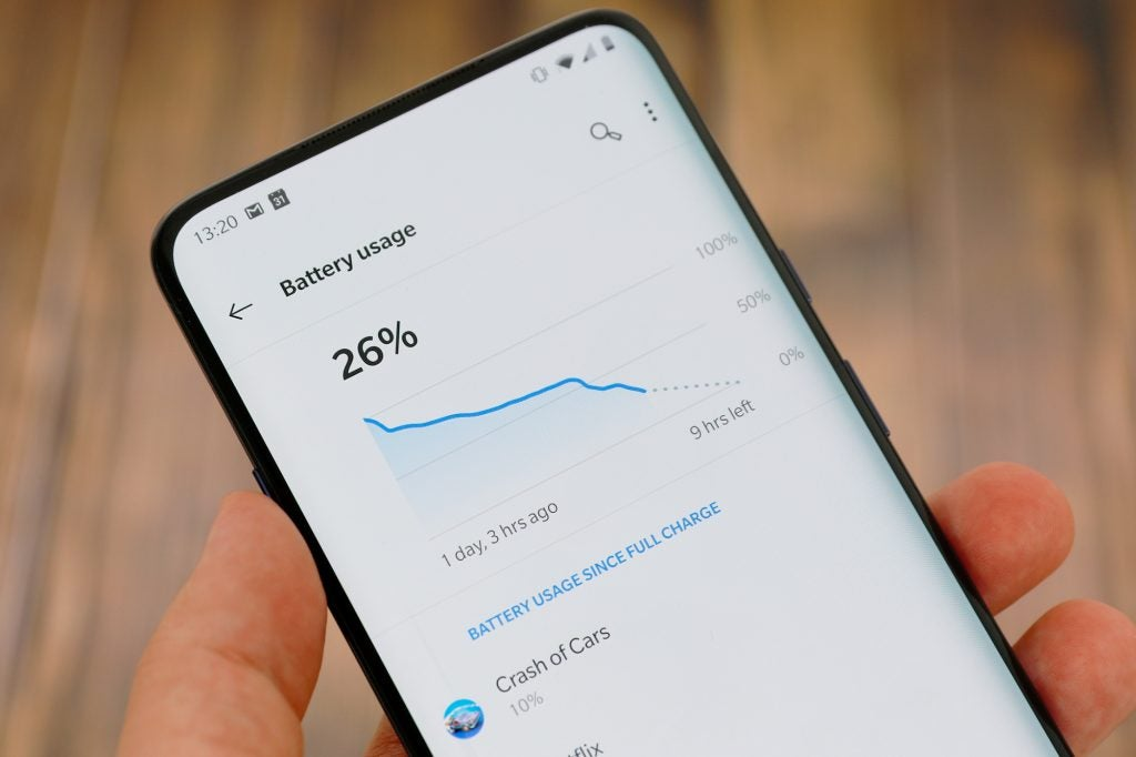 OnePlus 7 Pro Review: Battery life | Trusted Reviews