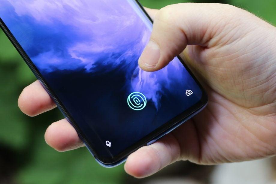 OnePlus 7 Pro handheld fingerprint