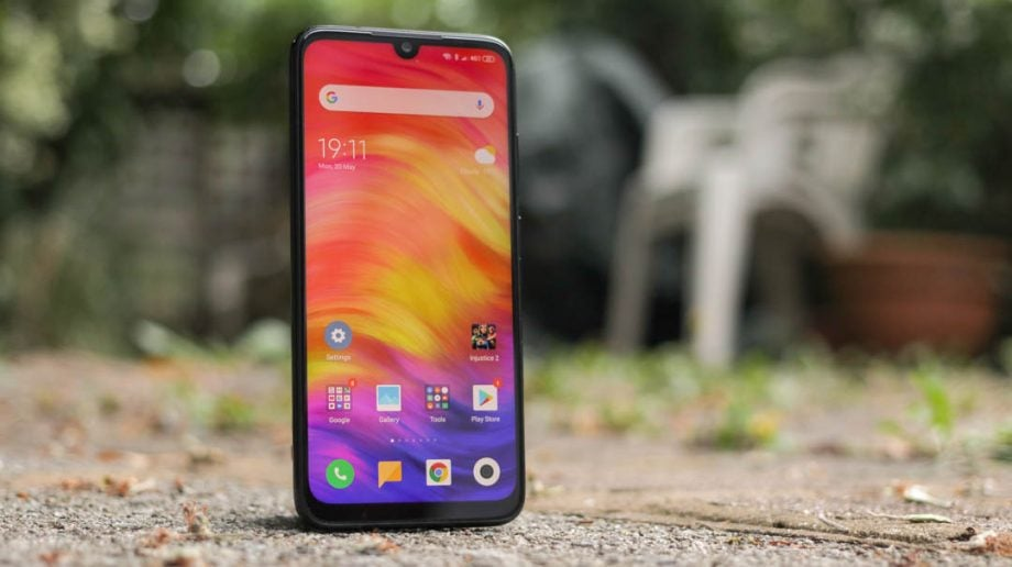 Xiaomi Redmi Note 7 front upright