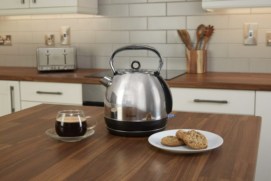 Swan 1.7l Stainless Steel Dome Kettle