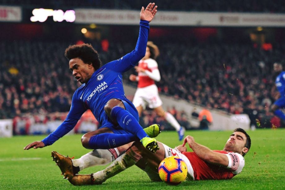 Image result for arsenal vs chelsea europa league