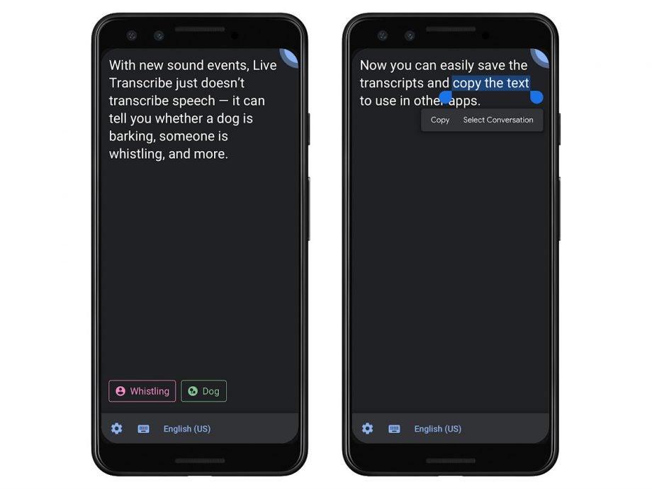 google live transcribe app