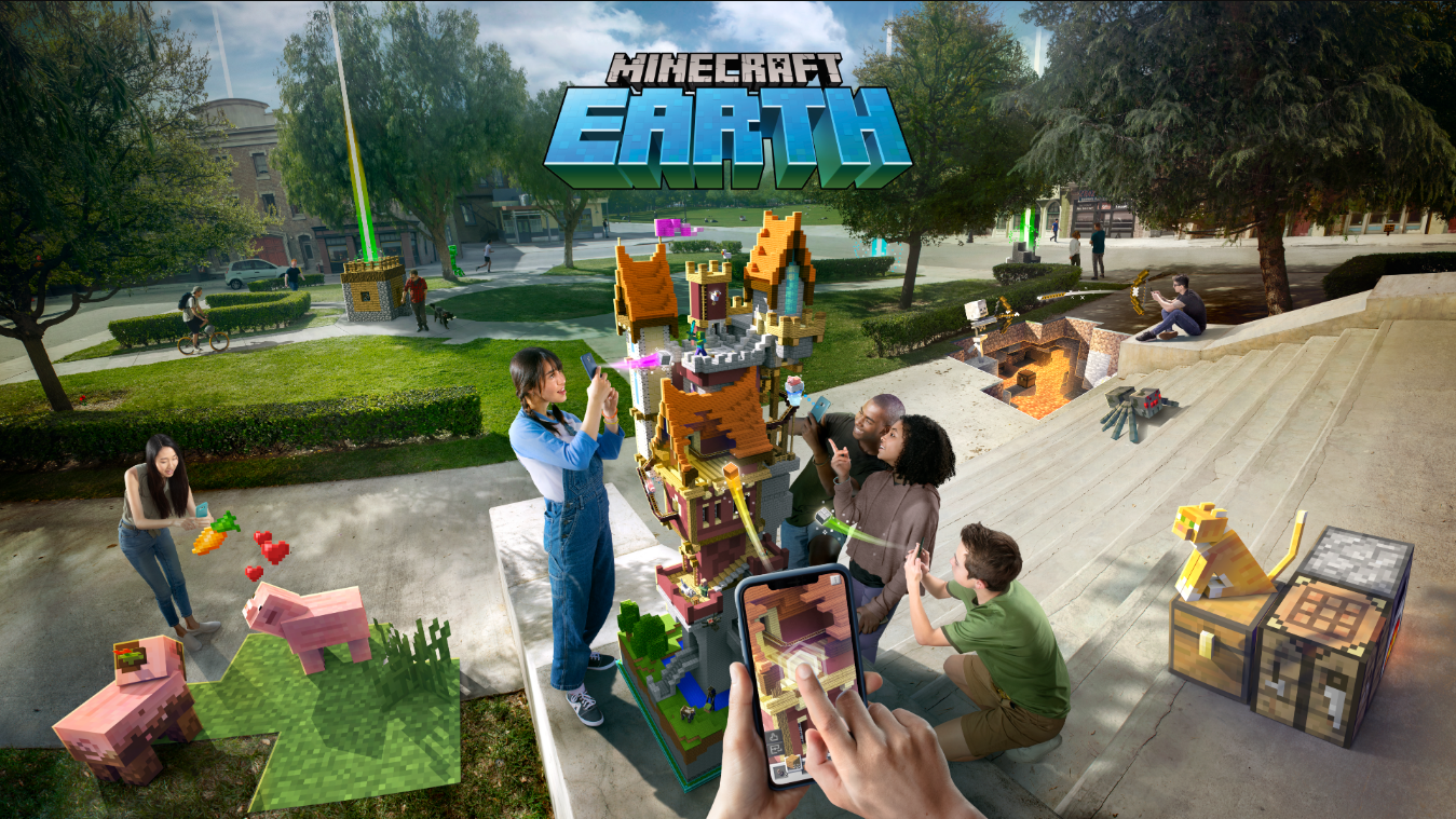 Minecraft Earth Early Access now available in the UK