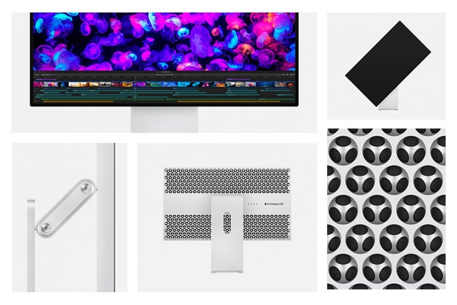 Apple Pro Display XDR collage