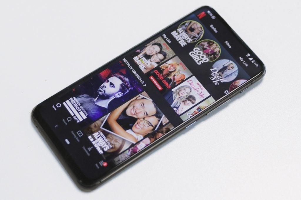 Asus ZenFone 6 Netflix
