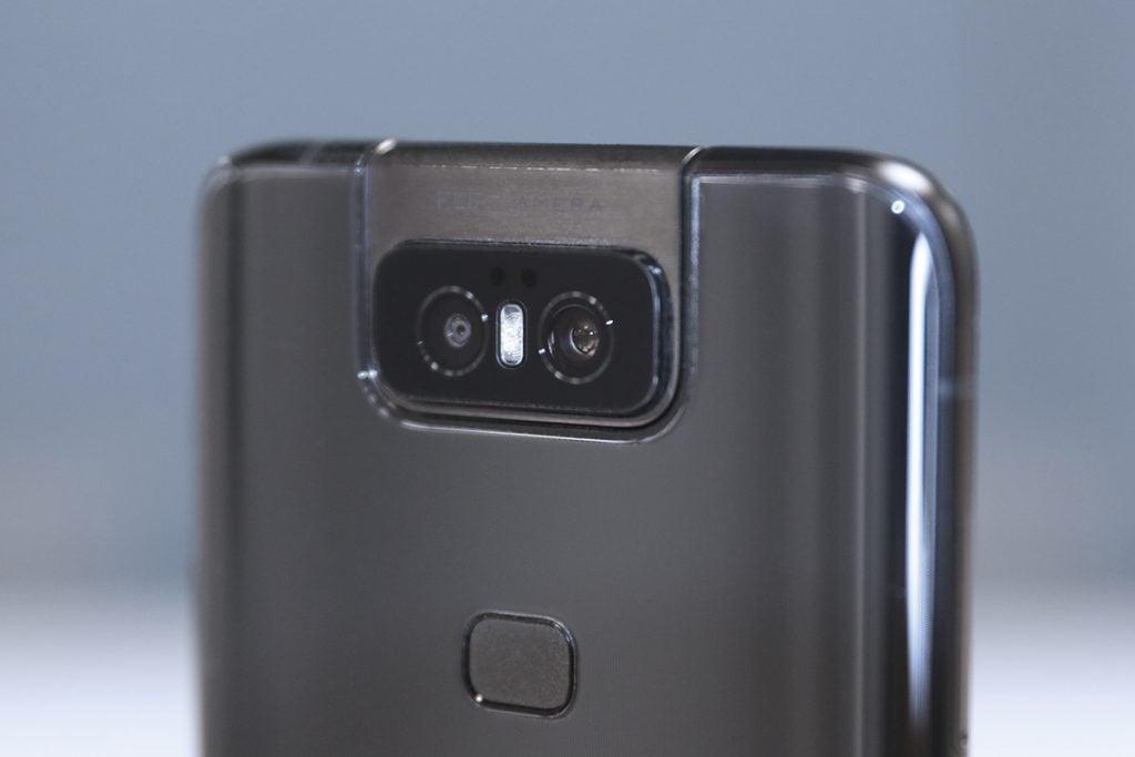 Asus ZenFone 6 боковая перспектива камеры