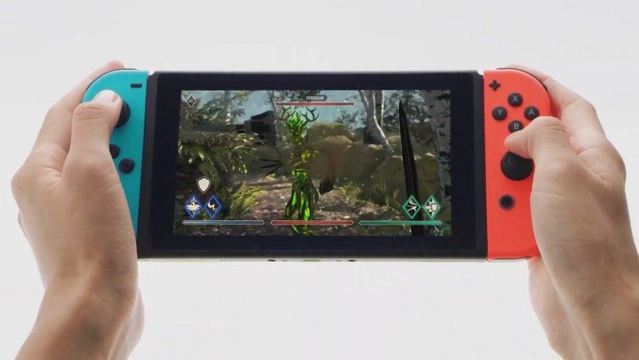 Elder Scrolls Blades Nintendo Switch