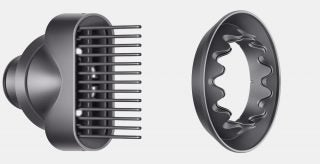 Dyson Supersonic wide tooth comb and gentle dryer