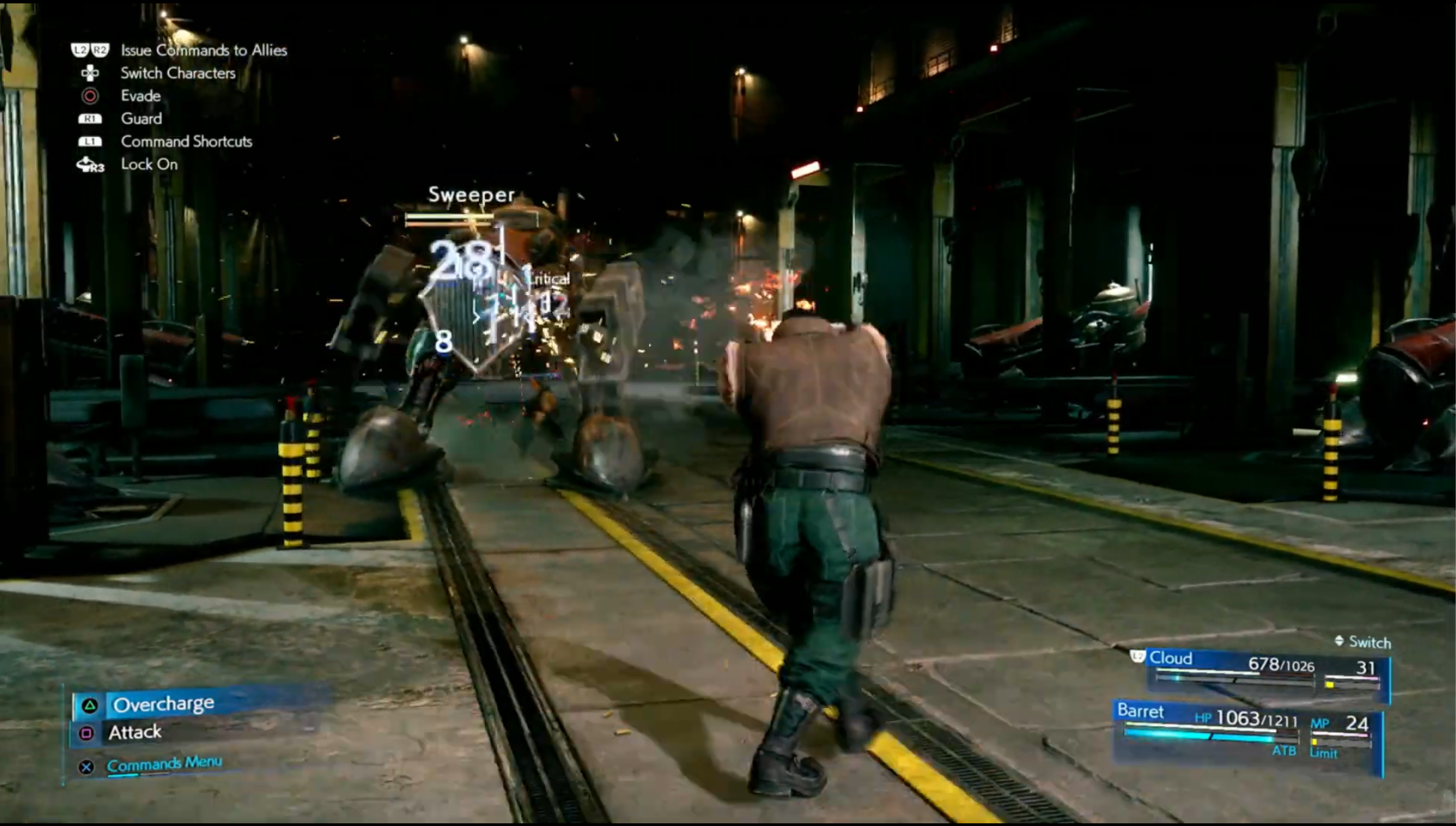 Here S How Final Fantasy 7 Remake S Battle System Will