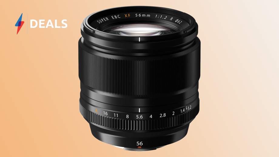 Fujifilm's dazzling XF 56mm portrait lens drops to one of its lowest prices yet