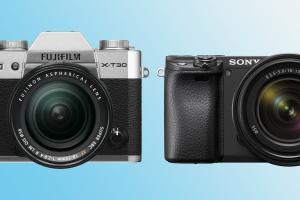 Fujifilm X-T30 vs Sony A6400