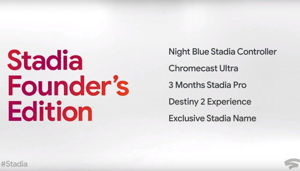 Google Stadia Pro Founder's Edition Bundle