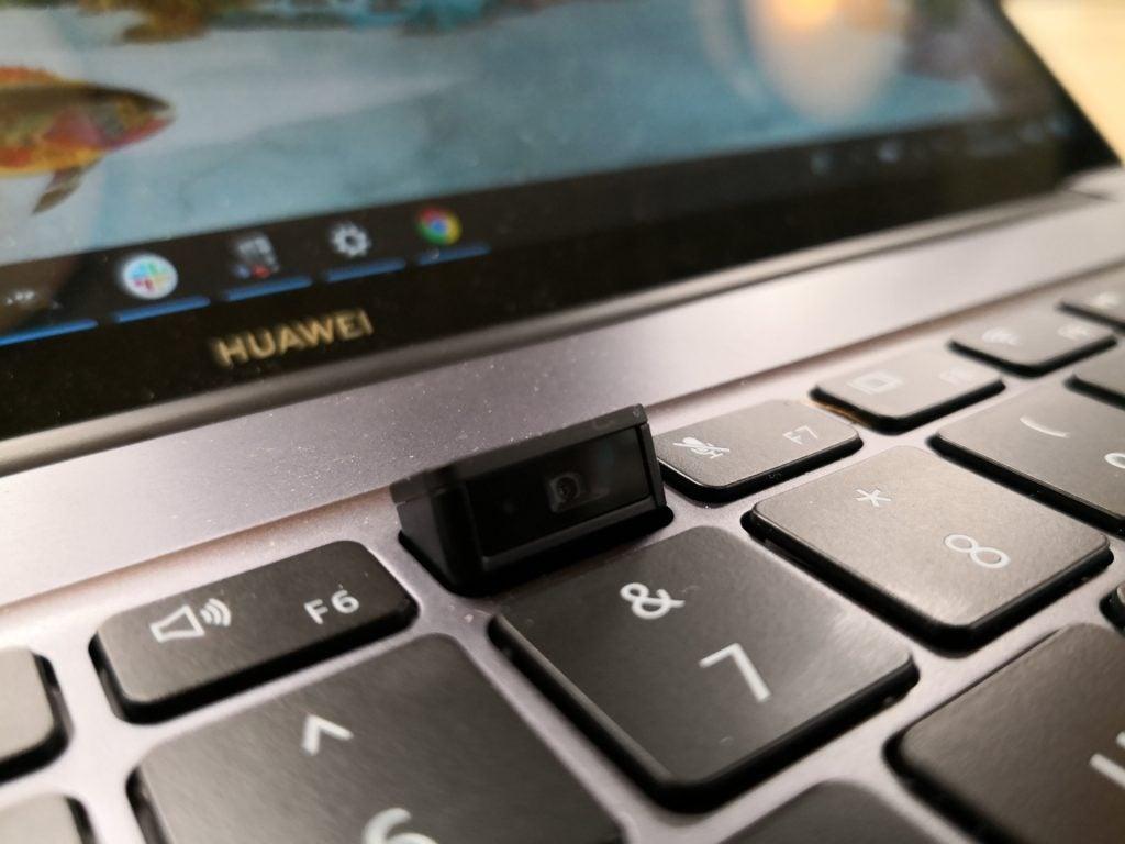 Huawei MateBook 14 review - webcam