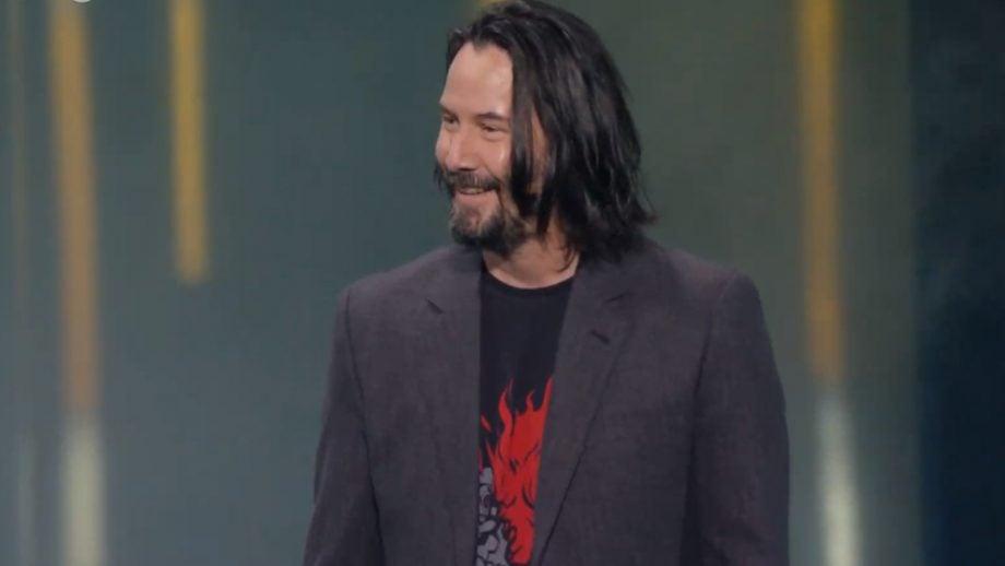Keanu Reeves E3 2019