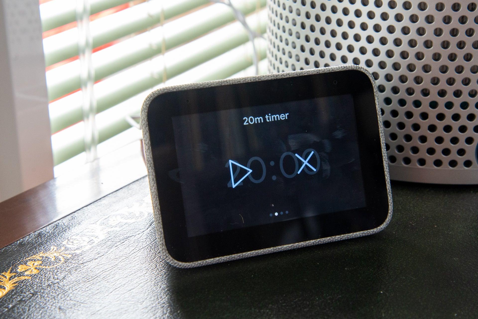 Lenovo Smart Clock nap timer