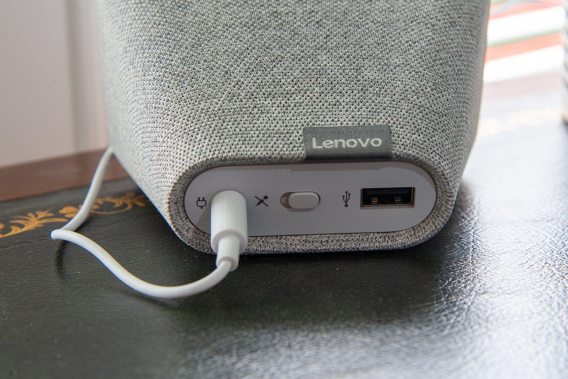 Lenovo Smart Clock rear