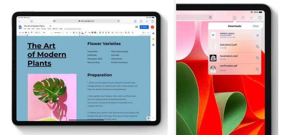 New Safari on iPadOS