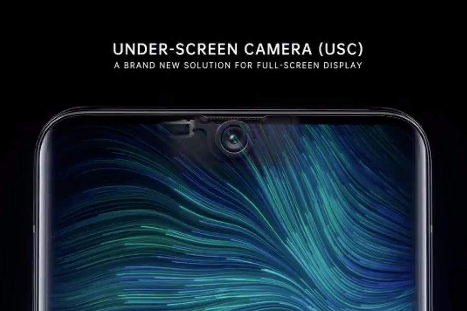 Oppo under screen camera (USC) press image
