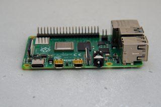 Raspberry Pi 4 Model B micro HDMI ports