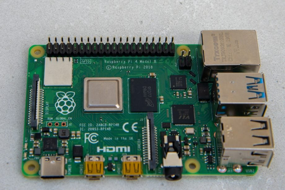 Raspberry Pi 4 Model B GPIO