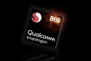 Qualcomm Snapdragon 865 mock-up