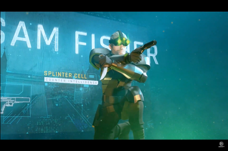 Sam Fisher makes an appearance at E3 2019, but it's a mobile game