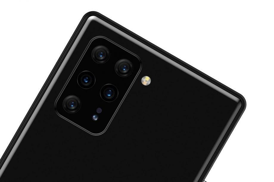 Sony Xperia leak with 8 cameras