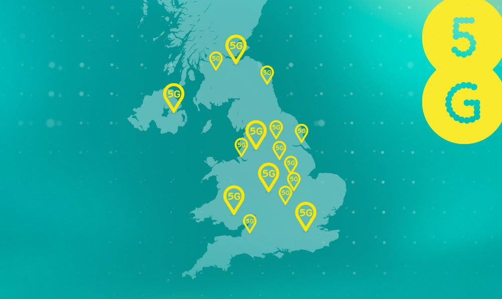 EE just expanded 5G coverage to 14 new cities in the UK – here's the list
