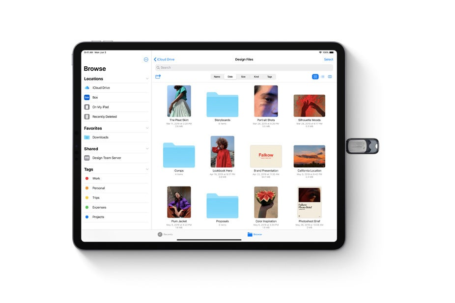 iPadOS adds thumb drive support as iPad verges closer to Mac
