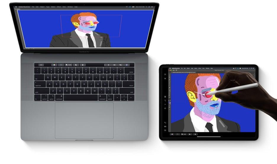 iPadOS macOS Sidecar Apple Pencil