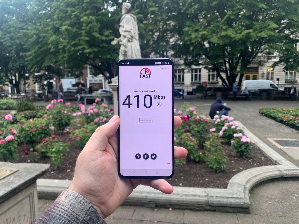 OnePlus 7 Pro 5G Speeds