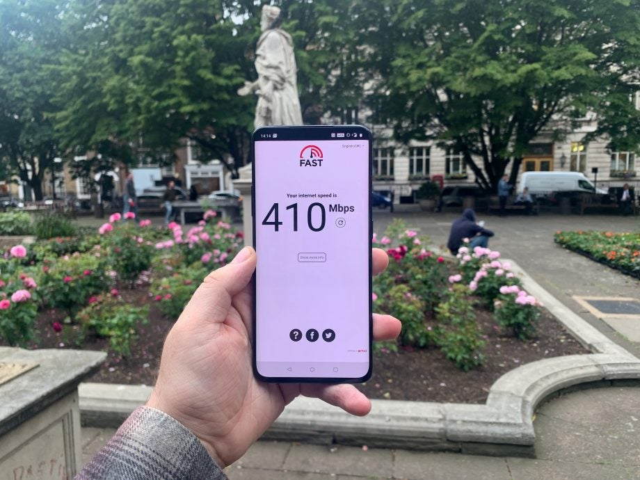 Ee 5g Review 48 Hours With The Oneplus 7 Pro 5g How Fast