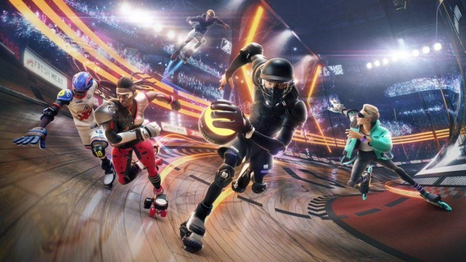 Surprise! Ubisoft is releasing a Roller Derby game and you can play it right now for free