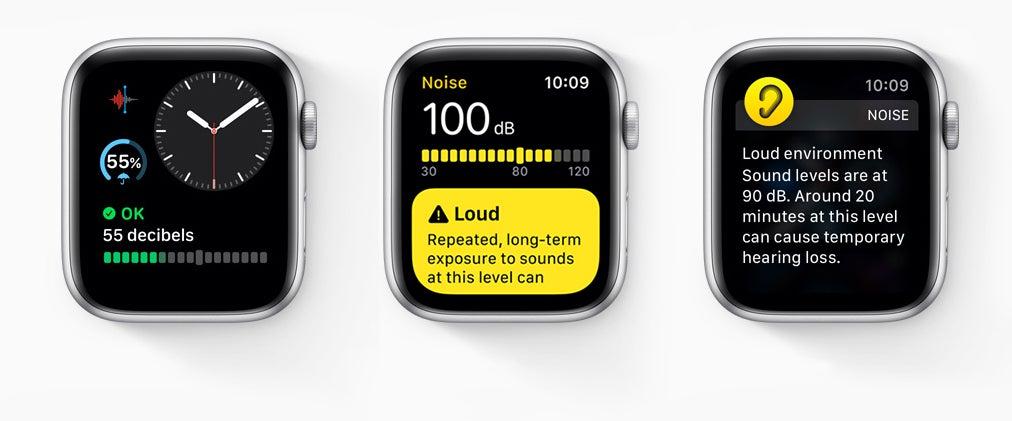 Apple Watch watchOS 6 Hearing Health