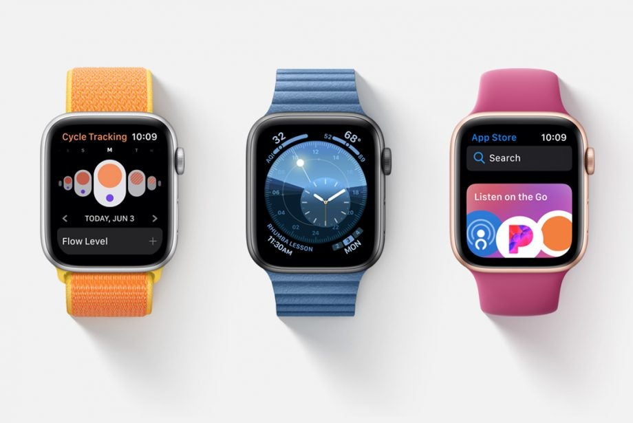 Apple Watch watchOS 6 hero