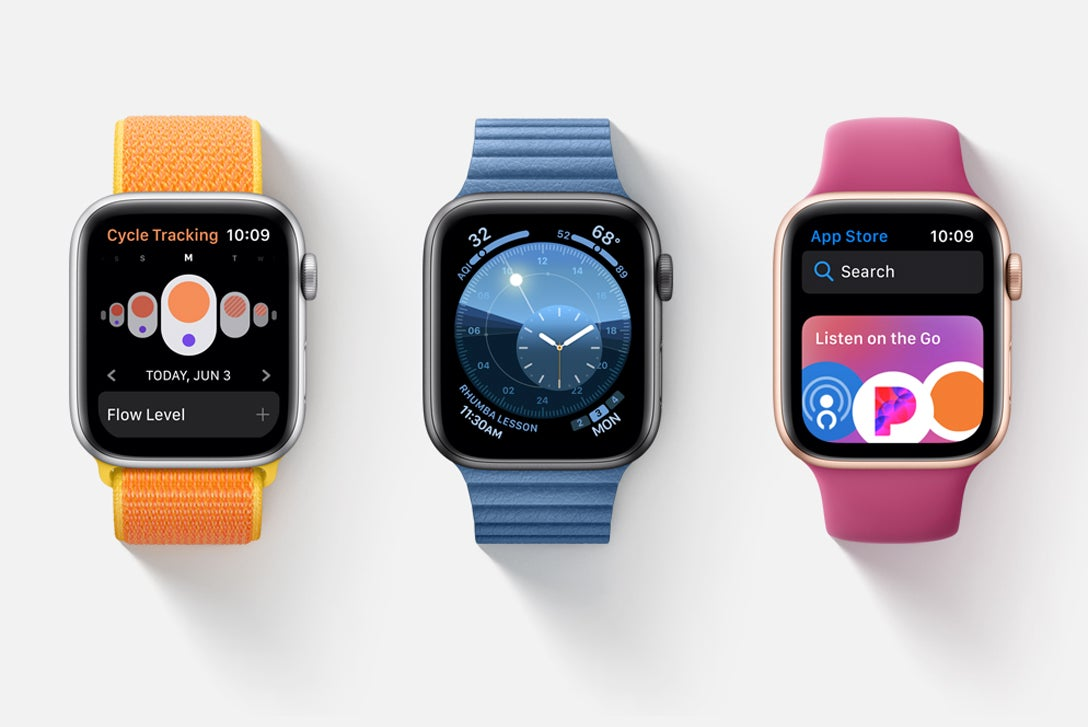 A whole list of watchOS 7 features has