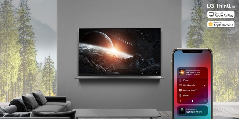 AirPlay 2 LG TV