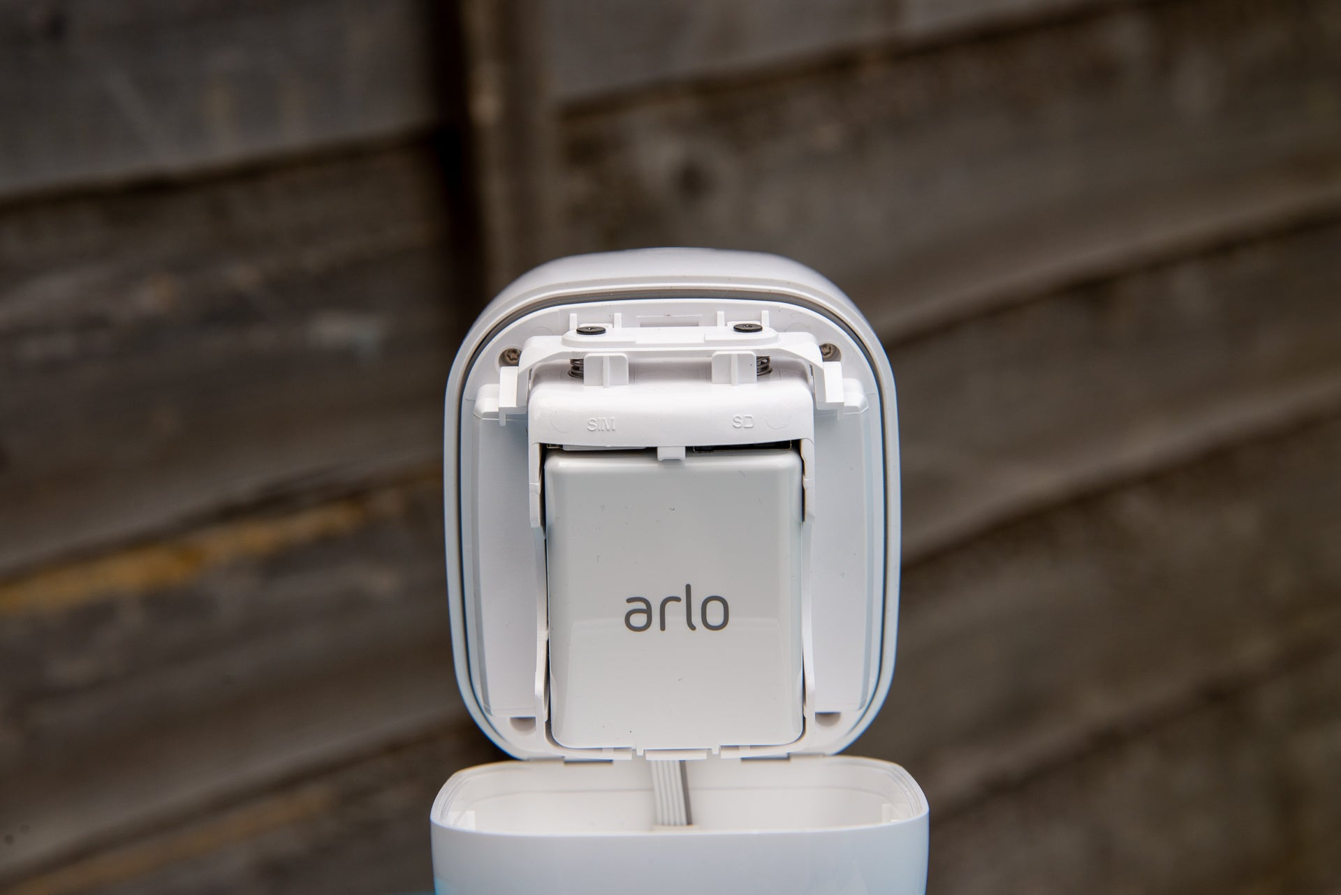 Arlo Go rear battery case